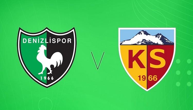 Denizlispor Kayserispor canlı şifresiz izle (Denizli Kayseri beIN Sports izle)