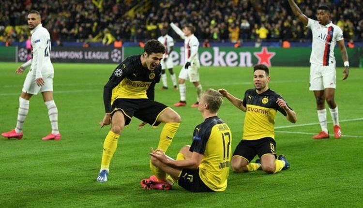 Dortmund 2-1 PSG maç özeti ve golleri izle (Haaland şov yaptı)