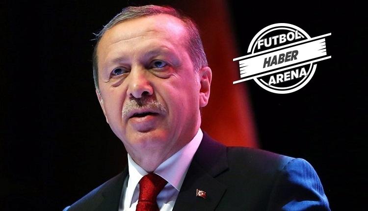 Erdoğan'dan futbol gündemine flaş çağrı: