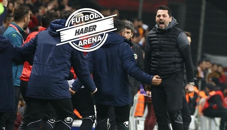 Erol Bulut, Galatasaray maç sonu FutbolArena'ya konuştu