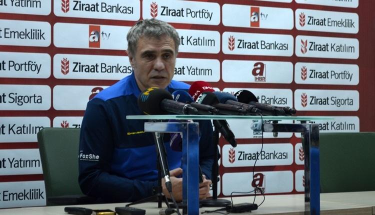 Ersun Yanal: 'Bugün futbol konuşabileceğimiz bir gün değil'