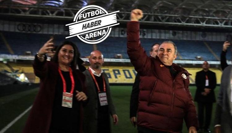 Fatih Terim'den maç sonu Kadıköy göndermesi