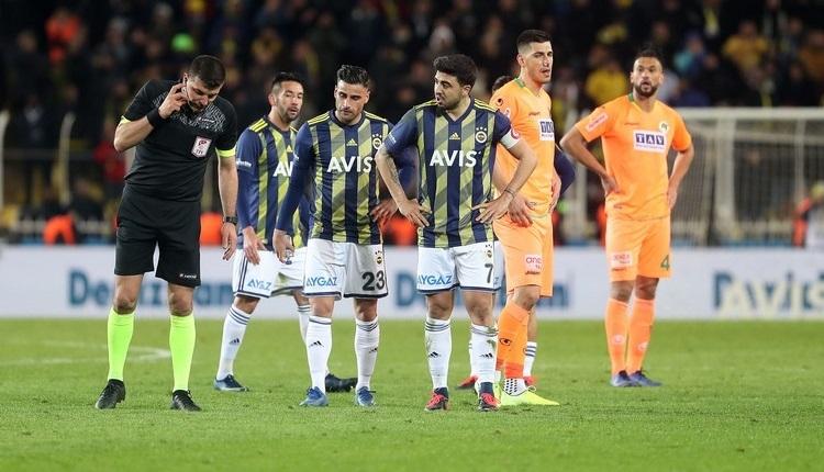 Fenerbahçe - Aytemiz Alanyaspor penaltı pozisyonları!