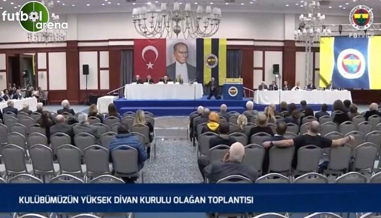 Fenerbahçe Divan Kurulu'nda ilginç anlar! Veysel Oran kimdir?