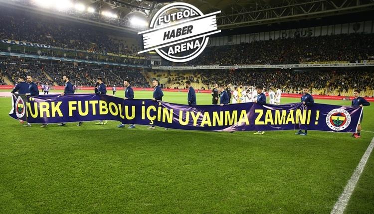 Fenerbahçe: 'Türk futbolu için uyanma zamanı'