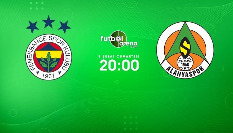 Fenerbahçe-Alanyaspor canlı izle, Fenerbahçe-Alanyaspor şifresiz İZLE (Fenerbahçe-Alanyaspor beIN Sports canlı ve şifresiz İZLE)