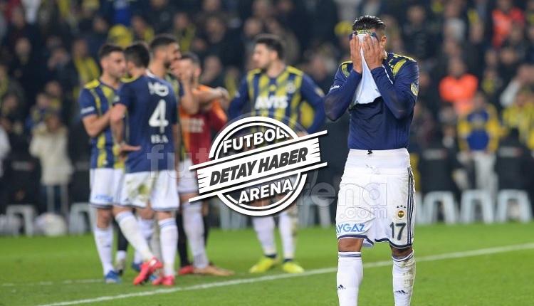Fenerbahçe'de derbide hüsran yaratan karne!