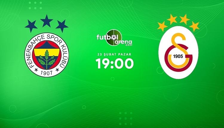 Fenerbahçe-Galatasaray canlı izle, Fenerbahçe-Galatasaray şifresiz İZLE (Fenerbahçe-Galatasaray beIN Sports canlı ve şifresiz İZLE)