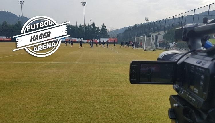 Beşiktaş antrenmanında Ljajic ve Gökhan Gönül korkuttu