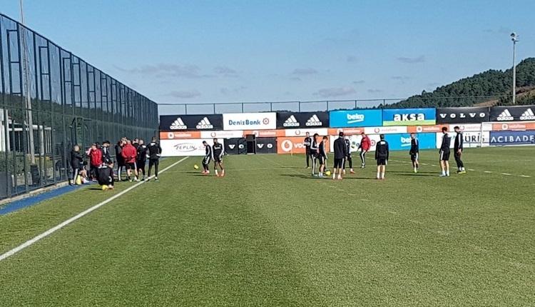 FutbolArena, Beşiktaş antrenmanında! Trabzon hazırlıkları