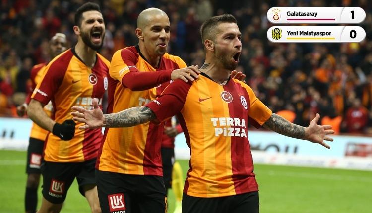 Galatasaray, Yeni Malatyaspor'u tek golle geçti (İZLE)