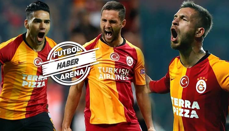 Galatasaray'da kim oynayacak? Falcao, Andone, Adem Büyük