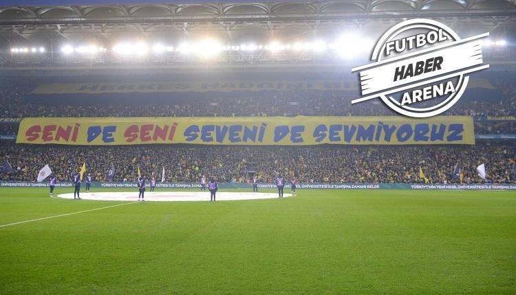 Galatasaray'dan Kadıköy'deki pankart için suç duyurusu