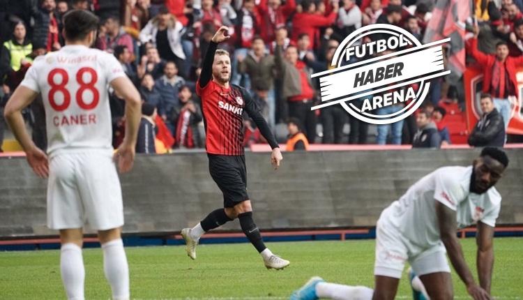 Gaziantep FK 5-1 Sivasspor maç özeti izle (Maxim şov yaptı)