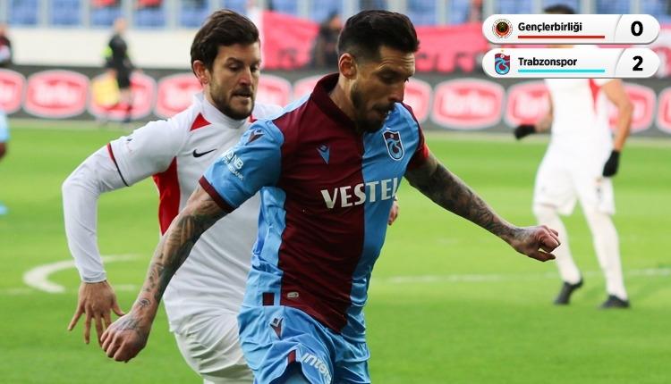 Gençlerbirliği 0-2 Trabzonspor maç özeti ve golleri (İZLE)