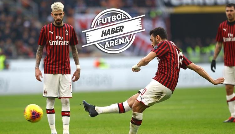 Hakan Çalhanoğlu, Verona'yı frikikten avladı! 2 maçta 3 gol (İZLE)