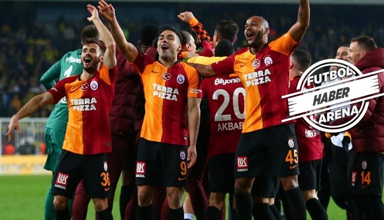 İşte Galatasaraylı futbolcuların Fenerbahçe derbisi özel primi