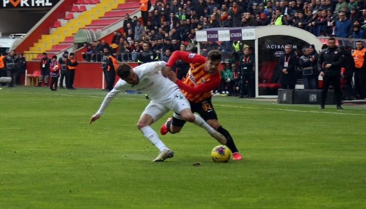 Kayserispor 2-2 Konyaspor maç özeti ve golleri İZLE