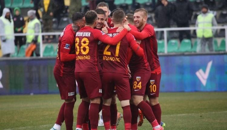 Kayserispor, Denizli deplasmanında kazandı (Denizlispor 0-1 Kayserispor maç özeti)