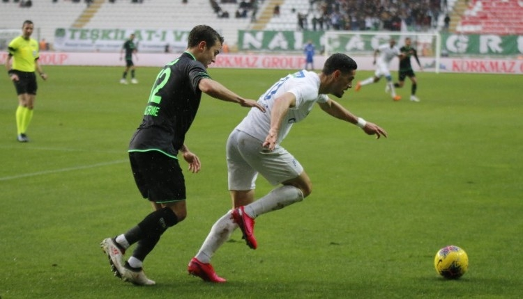 Konyaspor'da galibiyet özlemi 6 maça çıktı