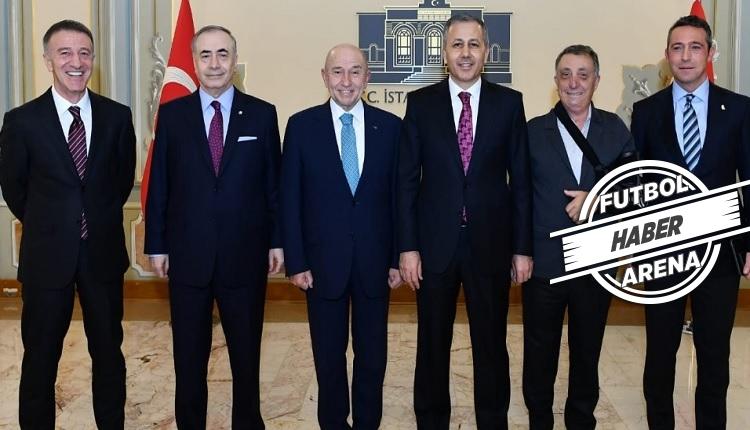 Türk futboluna sağduyu çağrısı! Başkanlar bir arada