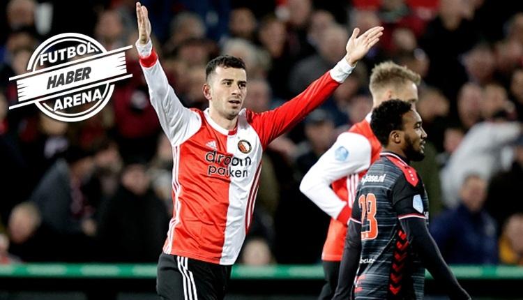Oğuzhan Özyakup, Feyenoord ile ilk maçında gol attı (İZLE)