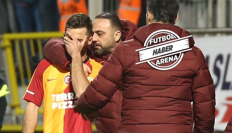 Saracchi geri döndüğü maçta sakatlandı, gözyaşlarını tutamadı