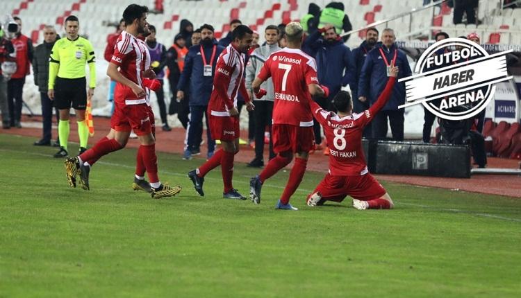 Sivasspor 1-0 Aytemiz Alanyaspor, Bein Sports maç özet ve golü (İZLE)