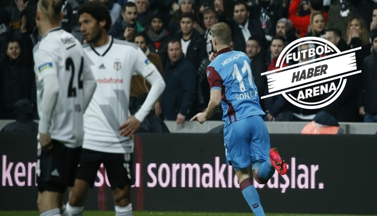 Sörloth Beşiktaş'a attı, Trabzonspor tarihine geçti