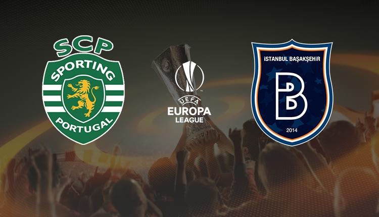 Sporting Lizbon - Medipol Başakşehir maçı canlı izle (Sporting Lizbon Başakşehir beIN Sports şifresiz maç İZLE)