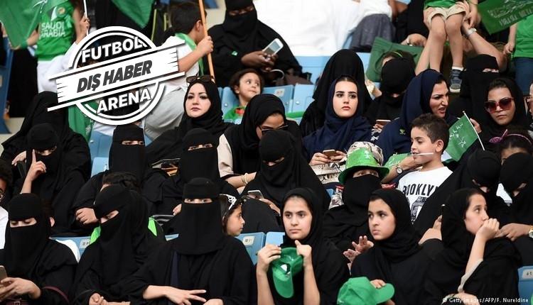 Suudi Arabistan'da devrim! Kadın Futbol Ligi