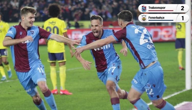 Trabzonspor 2-1 Fenerbahçe, Bein Sports maç özeti ve golleri (İZLE)