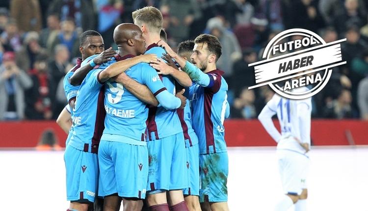 Trabzonspor 5-0 BB Erzurumspor maç özeti ve golleri (İZLE)