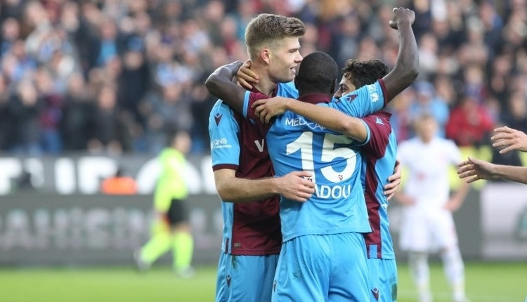 Trabzonspor, ligin zirvesindeki takımlara karşı üstün