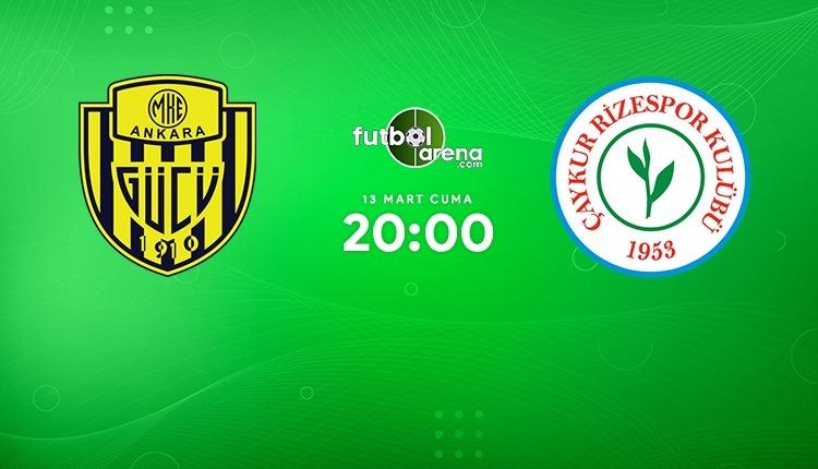Ankaragücü - Çaykur Rizespor canlı izle (Ankaragücü - Rizespor beIN Sports 2 şifresiz maç İZLE)