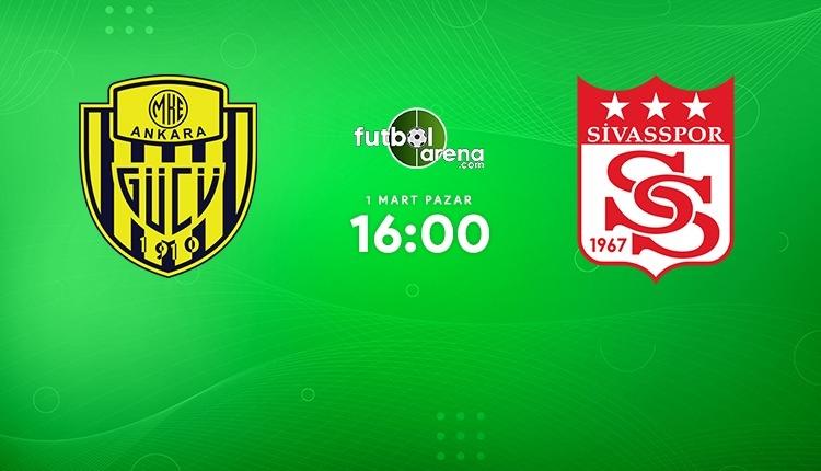 Ankaragücü - Sivasspor canlı izle (Ankaragücü Sivasspor beIN Sports 1 şifresiz maç İZLE)
