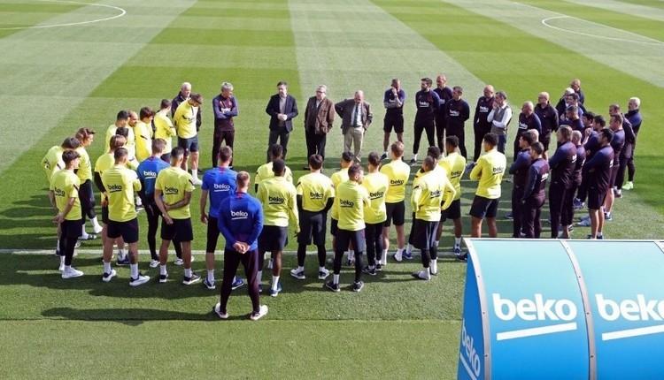 Barcelona'da tüm faaliyetler durduruldu