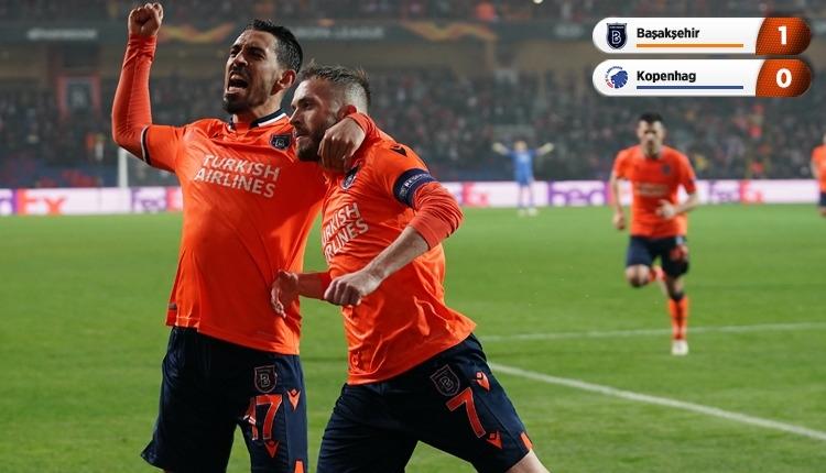 Başakşehir avantajı kaptı (Başakşehir 1-0 Kopenhag maç özeti izle)