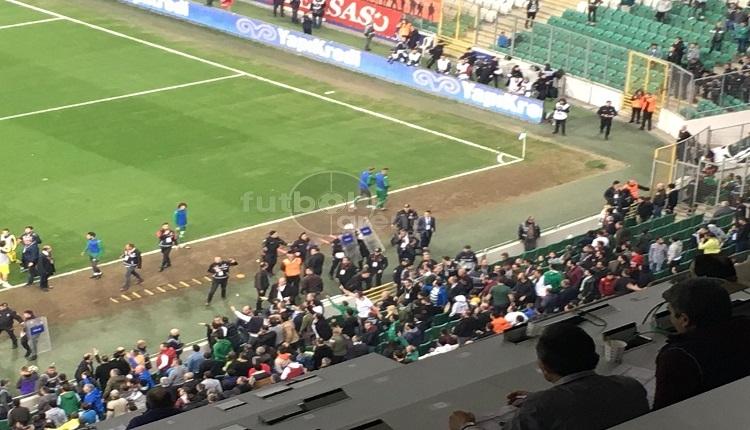 Bursaspor - İstanbulspor maçında olay!