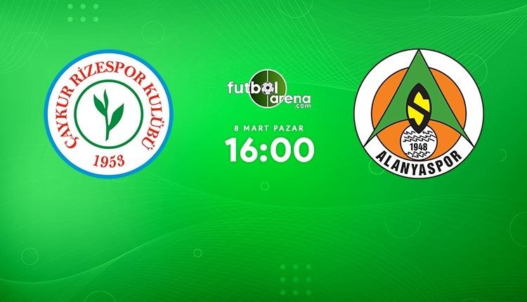 Çaykur Rizespor - Aytemiz Alanyaspor canlı izle (Rizespor Alanyaspor beIN Sports 2 şifresiz maç İZLE)