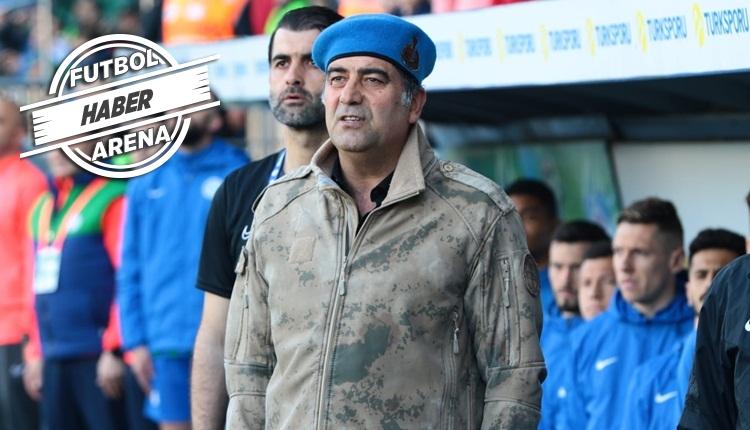 Çaykur Rizespor sahaya askeri kamuflajla çıktı