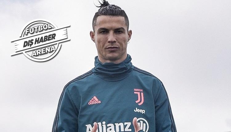 Cristiano Ronaldo'dan koronavirüse karşı alkışlanacak hareket