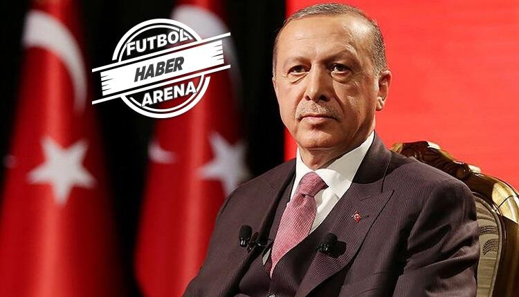 Cumhurbaşkanı Erdoğan açıkladı: