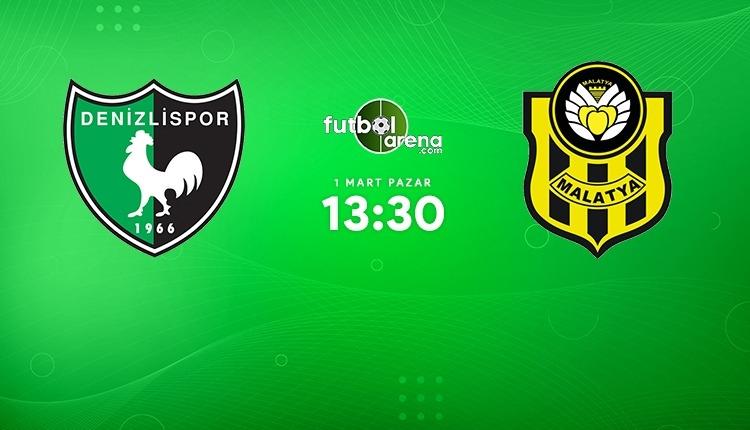 Denizlispor - Yeni Malatyaspor canlı izle (Denizlispor Malatyaspor beIN Sports 2 şifresiz maç İZLE)