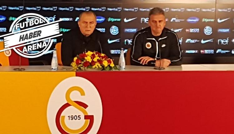 Maç sonu Fatih Terim ve Hamzaoğlu: 'Rengimiz kırmızı beyaz!'