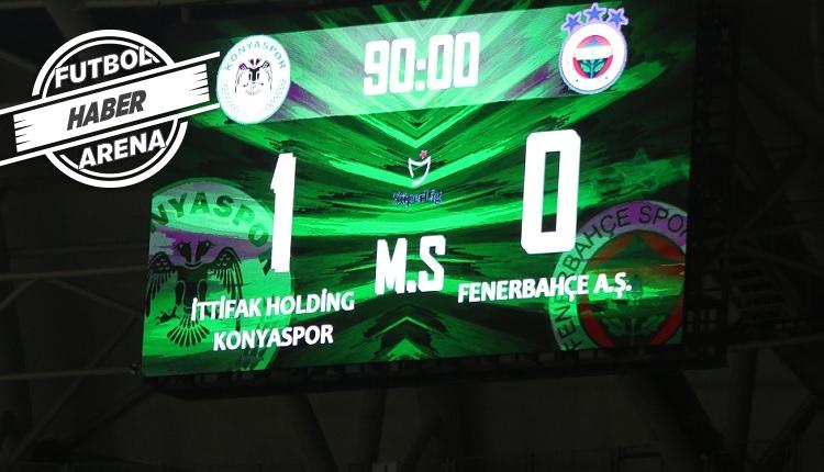 Fenerbahçe'de Konya maç sonu: 'Bu geceden utanıyoruz!'