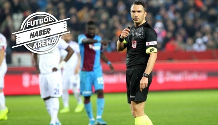 Galatasaray - Beşiktaş derbisinin hakemi Abdulkadir Bitigen