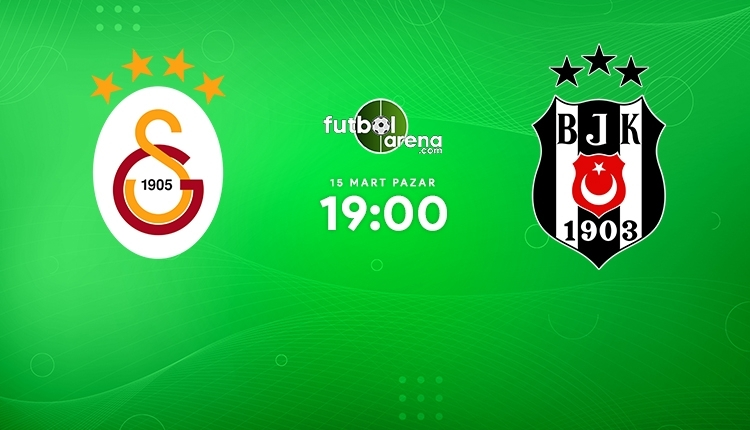 Galatasaray-Beşiktaş canlı izle, Galatasaray-Beşiktaş şifresiz İZLE (Galatasaray-Beşiktaş beIN Sports canlı ve şifresiz maç İZLE)