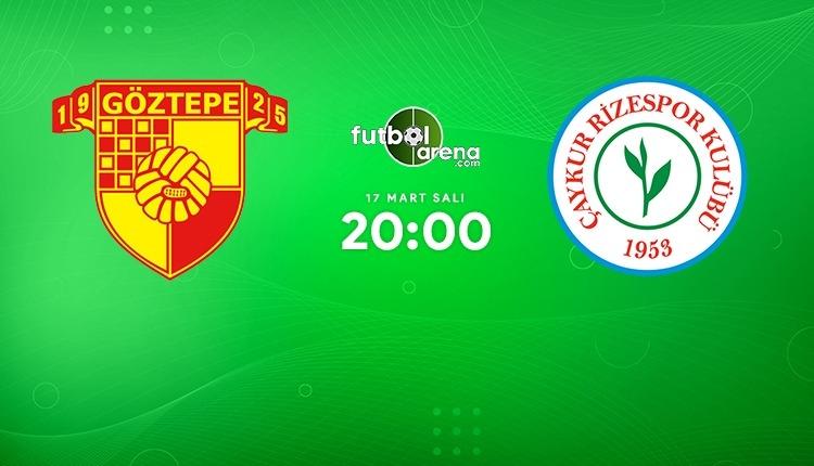 Göztepe - Çaykur Rizespor canlı izle (Göztepe Rizespor beIN Sports 1 şifresiz maç İZLE)