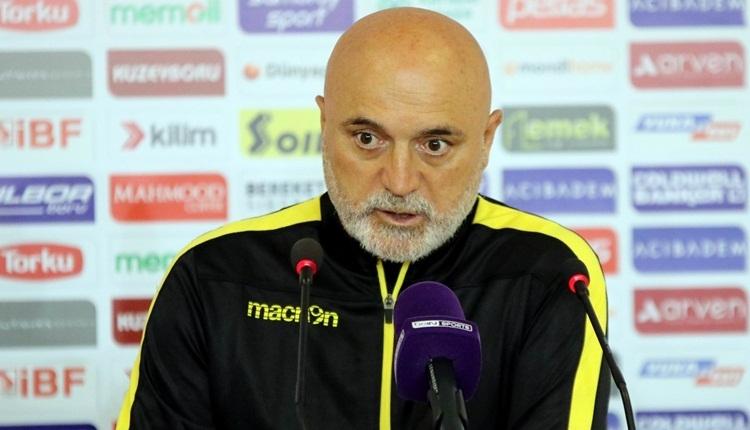 Hikmet Karaman'dan futbolcularına tepki: